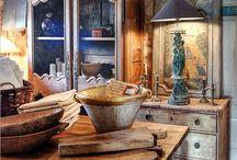 Keramik und Holz