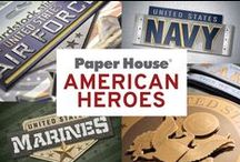 American Heroes / From firefighters to military personnel, these stickers and papers can help you celebrate the hero in your life.
