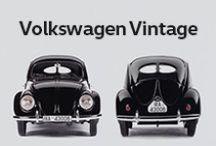 Volkswagen Vintage / Os modelos Volkswagen que mudaram o mundo estão aqui :)