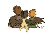 Supernatural / To all the hunters that love the Wincherster bros, demons and angels
