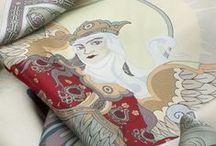 Russian Silk / Silk, prints