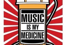 *Music is my medicine* / ** Music: On | World: Off  ** {Anything related to music;quotes,lyrics and music videos}