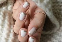 NAILS / Pretty nail ideas for both day to day or something a little more special. Wedding nails inspiration