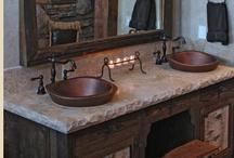 Kitchen/Bathroom ideas! / by Melissa Bolinger-Bushee