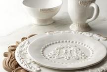 White dinnerware  / serviesgoed/dinnerware