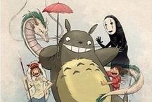 Ghibli Anime / by Nicole \(^.^)/