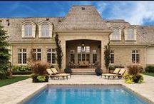 Dream Homes - Exterior / Rivera Fine Homes will create the home of your dreams. Combining functionality, beauty and efficiency we consider every home we build to be a masterpiece.   www.Riverahomes.ca
