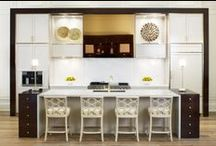 Creative Kitchens / A collection of beautiful kitchens that are polished as well as practical. Each room has been tailored to our clients distinct personality in a style that is both comfortable and captivating.