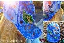ANGEL IS HERE ŠILTOVKY / Handmade značka šiltoviek