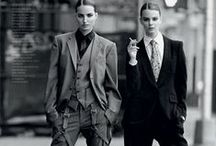 Versatile Menswear, for Women. / Women who can pull off the menswear look. Tailored and chic looks.