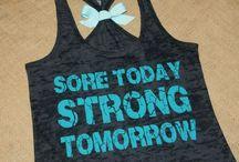 Work out - Trening / Inspirasjon til å trene.