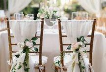 Déco en fêtes : Mariage / De beaux mariages avec une ambiance romantique comme je les aime !