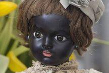 Black porcelain dolls