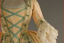 Dresses of the 18th century
