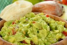 Guacamole / We love guacamole! It's delicious on so much more than fish tacos. Here we share some of our favorite guacamoles and creative tastes.