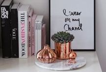 Copper trend / The copper trend - interiors