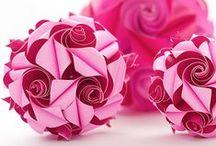 fleurogami, origami