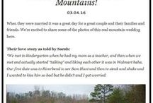 Real Gatlinburg Weddings / Check out some real Gatlinburg weddings at the Bluff Mountain Inn.