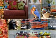 Inspiración Africa / Todos los recursos naturales, culturales y artísticos de un continente lleno de color y formas alegres...
