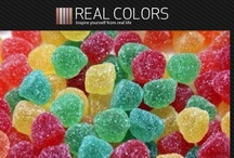 Real Life Color Palettes / Generated with Real Colors app: http://realcolors.makan-studios.com