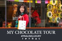My Euro Chocolate Tour / On this tour I attempted to visit as many chocolate shops in Paris, Milan and Zurich as possible.