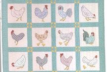 quilt - chicken / by Hazel TheBunny