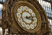 Clocks / by Jeannette Pawluk