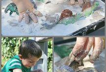 EC - Sensory Play / Sensory experiences for children.