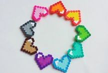 Hama Fun / Creativity & fun with Hama beads