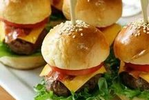 Party Food ~ Adults / Easy Party Food Recipes, Finger Food and Buffet Ideas