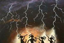 облака/торнадо/молнии / облака/торнадо/молнии