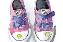 • Kid Shoes • / Shoes for kids. Modern and cool.