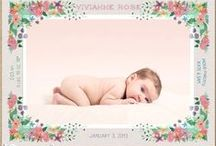 • Birth Announcements • / Creative baby announcements. How old is baby. Baby monthly. Month by month. Baby born cards. Name announcement.