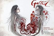 Gutted: Beautiful Horror Stories / Awe and ache. Terror and transcendence. Regret and rebirth. Gutted: Beautiful Horror Stories is coming this June! Featuring an all-star lineup including Ramsey Campbell, Clive Barker, Neil Gaiman, Paul Tremblay, John F.D. Taff, Lisa Mannetti, Damien Angelica Walters, Christopher Coake, Josh Malerman, Mercedes M. Yardley, Brian Kirk, Amanda Gowin, Richard Thomas, Maria Alexander, Stephanie M. Wytovich and Kevin Lucia. With a foreword by Cemetery Dance magazine founder Richard Chizmar.
