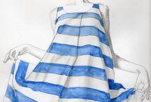 • Stripe Style • / Illustrations that use stripes. Illustrations of the stripes. Stripes in fashion. Fashion stripe trends. Stripes on clothing. Stripe shirts. Striped dresses. Striped pants.