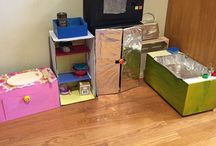 • Play-Kitchens • / Play kitchen. Little kitchens for kids. Creative mini kitchens. DIY kids kitchen. Kids kitchen decor. Kid toys and crafts.