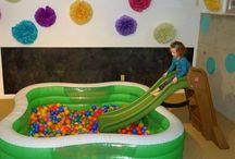 • Indoor Playground • / Indoor playground. Play inside. Indoor slide. Ball pit design. Indoor trampoline. Sensory gym indoors. Living room playground. Indoor playspace. DIY playspace. DIY playground. DIY playroom. Playroom ideas. Playground ideas.