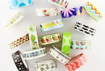 • Washi Tape Luv • / Washi tape, stationery, packing tape, paper tape, DIY Washi tape, gift wrapping, planner supplies, art supplies, stationery supplies, notebook supplies, paper crafts, hang on wall safe, notebook supplies, stationery decor, tape designs, cute patterns