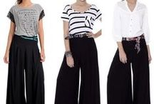 Pantalonas / Falda pantalones / by Angeles Vera