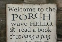 Ways to decorate a front porch