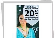 StyleChat Favorites / Discover, wear and share your style.  Fashion and beauty trends, collections, looks, designers and influencers we love.  Download StyleChat at:  http://bit.ly/TegHsg