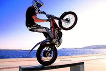Trial X / Photos from the extreme sport trial-x and from the Trial X rider Marios Pol.