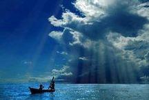 Beautiful blue skys
