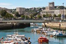 Le Havre - Normandie / La Normandie et Le Havre sont tournées vers La Seine et les activités maritimes. Un petit rayon de soleil et c'est toute une palette de couleurs qui animent les Normand(e)s d'une energie de Vikings.
