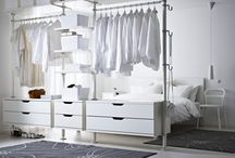 room ideas. / Pins, about smart ideas/layouts for the bedroom