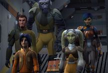 Star Wars Rebels / Star Wars Rebels, set five years before the events of Star Wars: Episode IV A New Hope, tells the story of the Rebellion's beginnings while the Empire spreads tyranny through the galaxy.