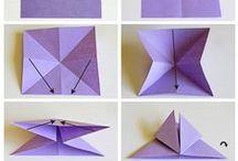 #Dobradura Origami
