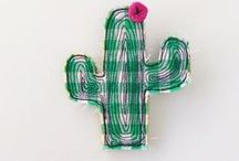 Succulent Inspired Craft / Succulent & Cactus Inspired Sewing & Craft Projects