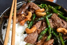 Food:  Asian Influence / Asian influenced recipes