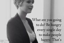 Jennifer Lawrence sayings / by Knicknackpig